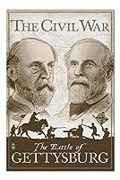 American Civil War–ゲティスバーグ( 20x 30プレミアム1000ピースジグソーパズル、アメリカ製。 )