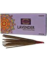 (Lavender) - Raajsee Lavender Incense Sticks 100 Gm Pack-100% Pure Organic Natural Hand Rolled Free From Chemicals-Perfect...