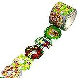 WRC マスキングテープ クリスマス デザイン テープ kata kata tape リース
