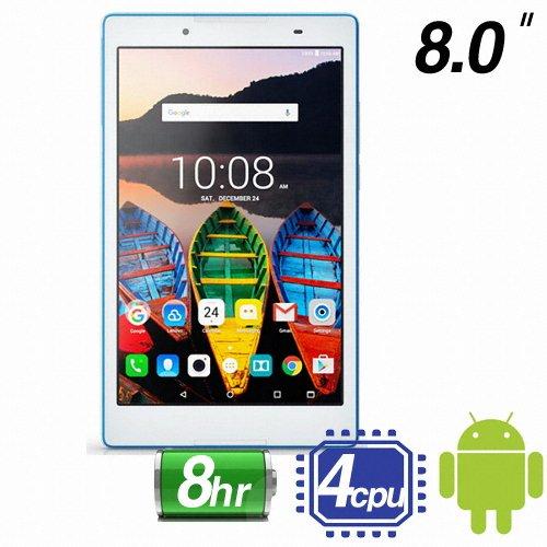 Lenovo レノボ タブ3 タブレット 8inch 16GB white [並行輸入品]