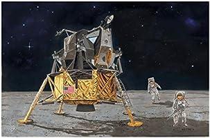 ドラゴン 1/72 NASA アポロ11号 人類初の月面着陸 司令船コロンビア+月着陸船イーグル with 宇宙飛行士 プラモデル DR11002