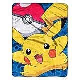 "Micro Raschel Throws - Pokemon - Go Pikachu New 46x60"" Blanket (¥ 5,659)"