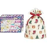 ぷにジェル すみっコぐらし DX プラス PG-27 + インディゴ クリスマス ラッピング袋 グリーティングバッグLL ハッピークリスマス XG497