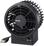 リズム時計 RHYTHM USBファン シルキー・ウィンド 強風・静音 ブラック 9ZF002RH02