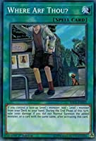 YuGiOh 1st Ed Where Arf Thou ?sdcl-en031共通1st Edition cyberseリンクカード。
