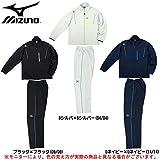 MIZUNO(ミズノ) ウォームアップ シャツ パンツ 上下セット (32MC5120/32MD5120) (ブラック×ブラック(09/09), L)