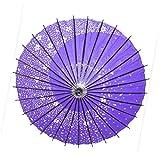 STARDUST 【 おみやげに 】 和風 踊り傘 日傘 (青) SD-ODORI-BL