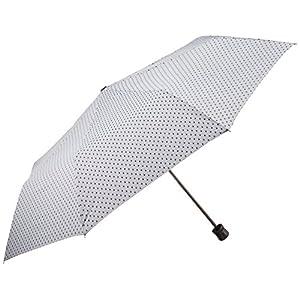カクセー レイニードット UV 折りたたみ傘 56cm グレー 73244070