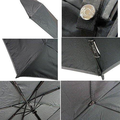 トゥミ TUMI 折り畳み傘(大) 14416 ブラック 黒