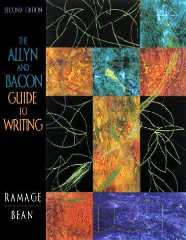 Download The Allyn and Bacon Guide to Writing 0205297919