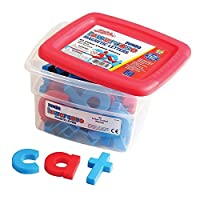 Educational Insights Jumbo AlphaMagnets Color-Coded Lowercase (Set of 42) [Floral] [並行輸入品]