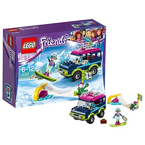 """レゴ(LEGO)フレンズ スキーリゾート""""スノーボードトリップ"""