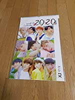 X1/エックスワン2020年度 壁掛けカレンダー ※韓国店より発送の為、お届けまでに約2週間