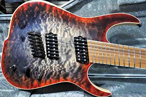 Skervesen Raptor 7-Strings Multi Scale / Red