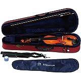 STENTOR バイオリン アウトフィット 1/2サイズ 適応身長125~130cm ハードケース、弓、松脂付 SV-180 1/2