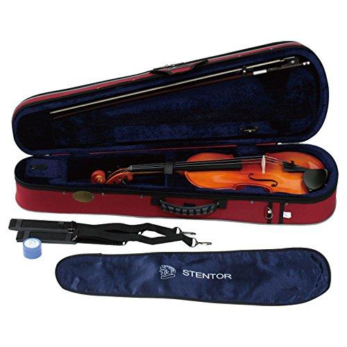 STENTOR/ステンター  初心者入門用 バイオリン SV-180 1/8  弓 松脂 ライトハードケース