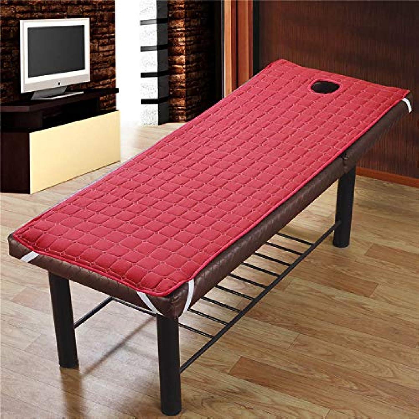 エゴマニア疑問を超えて放映Funtoget  美容院のマッサージ療法のベッドのための滑り止めのSoliod色の長方形のマットレス