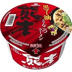 【ケース販売】マルタイ 熊本黒マー油とんこつラーメン 76g×12個 フード 穀物・豆・麺類 ラーメン [並行輸入品]