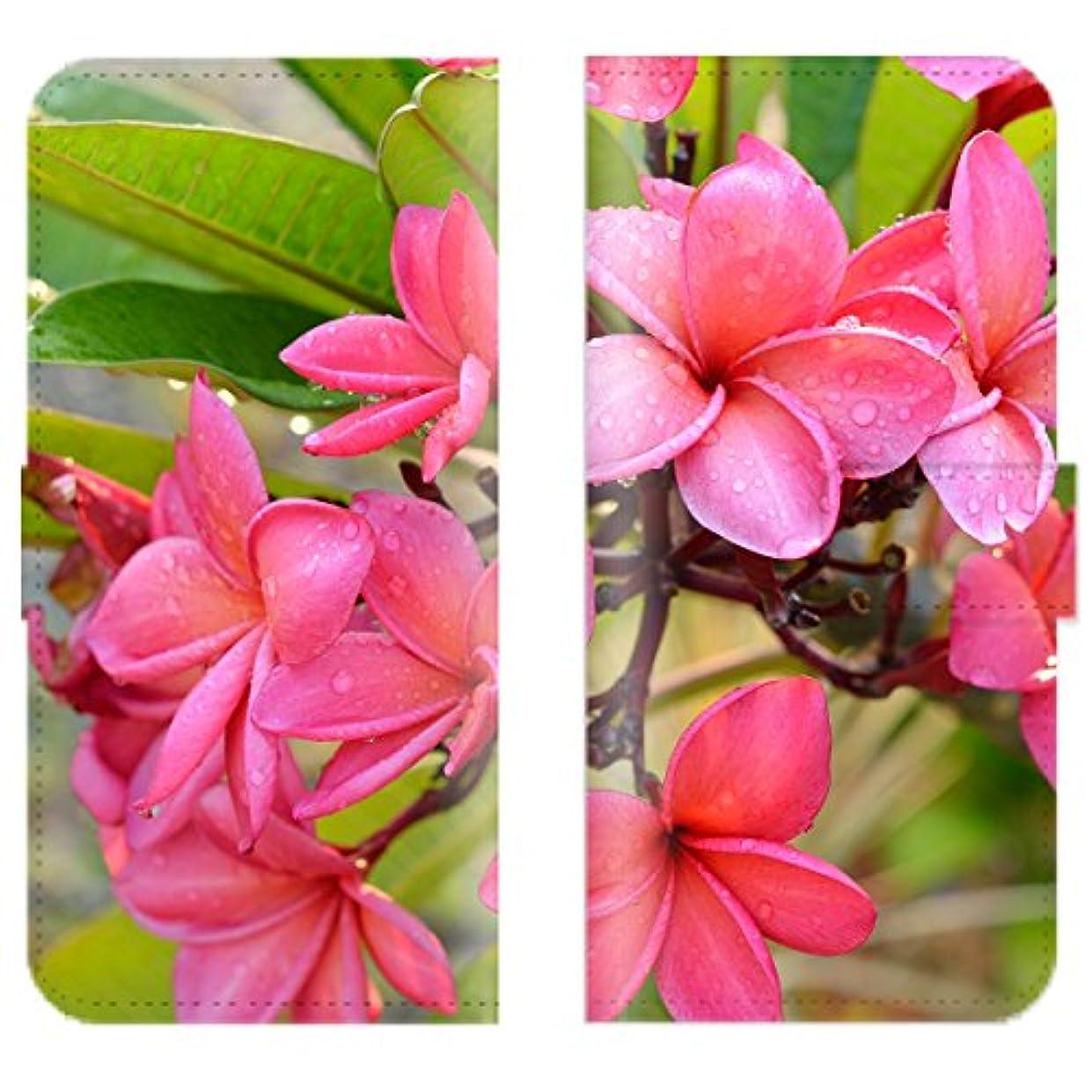 大胆なバイオリニスト船外Xperia X Compact SO-02J 対応 スマホケース 全機種対応 手帳型 ハワイアン 花 hawaii ビーチ ハワイ 海 ハイビスカス プルメリア スマートフォン ケース