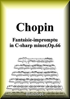 [Frédéric François Chopin]のショパン 幻想即興曲 Op.66 ピアノ・ソロ