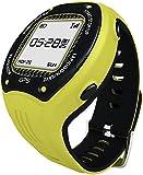 Posma W3 GPS ナビゲーションランニング サイクリングハイキング マルチスポーツウォッチGセンサー、6軸Eコンパス付き、ANT+ 互換。STRAVA MapMyRide/MapMyRun (BHR20 心拍計 BCB20 速度/ケイデンス センサーの組み合わせが可能です。) グレー/ イエロー 黄色