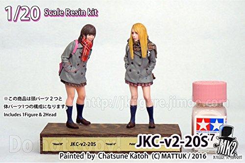 JK FIGURE Series 001 JKC-v2-20S 1/20 レジンキット