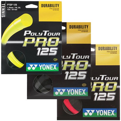 【12Mカット品/各色】ヨネックス ポリツアープロ(1.20mm/125mm/130mm) Yonex Poly Tour Pro (1.20mm/125mm/130mm)PTP [並行輸入品]