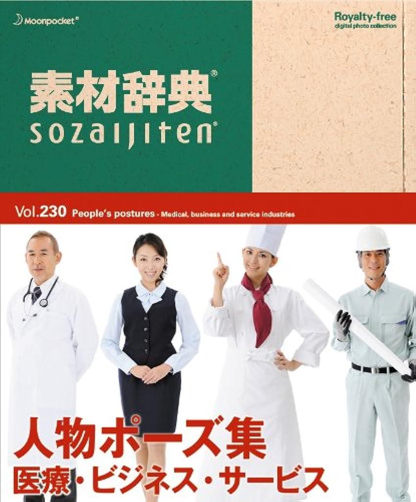 商業の十分ではないどこにも素材辞典 Vol.230<人物ポーズ集-医療?ビジネス?サービス編>