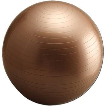 ラッキーウエスト(Lucky West) ヨガバランスボール シャンパンゴールド 55cm LG-315
