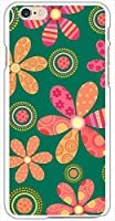 sslink iPhone6s Plus 5.5インチ ハードケース ca618-4 花柄 レトロ ポップ フラワー スマホ ケース スマートフォン カバー カスタム ジャケット softbank au docomo