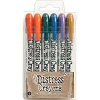 (13.97 x 8.25 x 1.27 cm) - Tim Holtz Distress Crayon Set