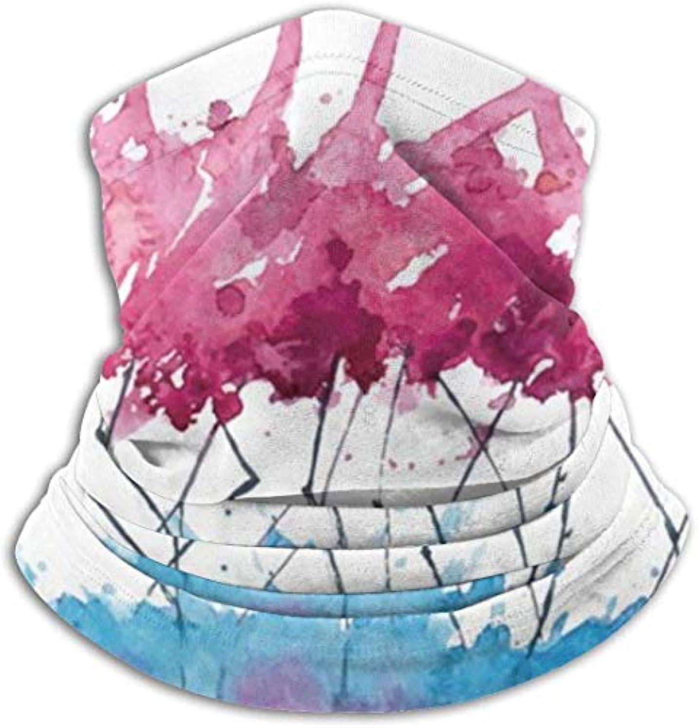 ブリード煩わしいコンセンサストロピカルダンスフラミンゴ ネック暖かいスカーフ サーマルネックスカーフ マイクロファイバーネックウォーマー ネックウォーマー マフラー 帽子 ヘッドバンド 秋冬 防寒 防風 キャップ 多機能 ネック ゲーター 男女兼用