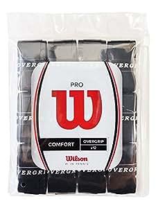 Wilson(ウイルソン) グリップ PRO OVERGRIP (プロ オーバーグリップ) (12PK) ブラック 12個入り WRZ4022