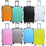 DABADA(ダバダ) 軽量 スーツケース S M Lサイズ 全8色 TSAロック ファスナータイプ キャリーバッグ キャリーケース
