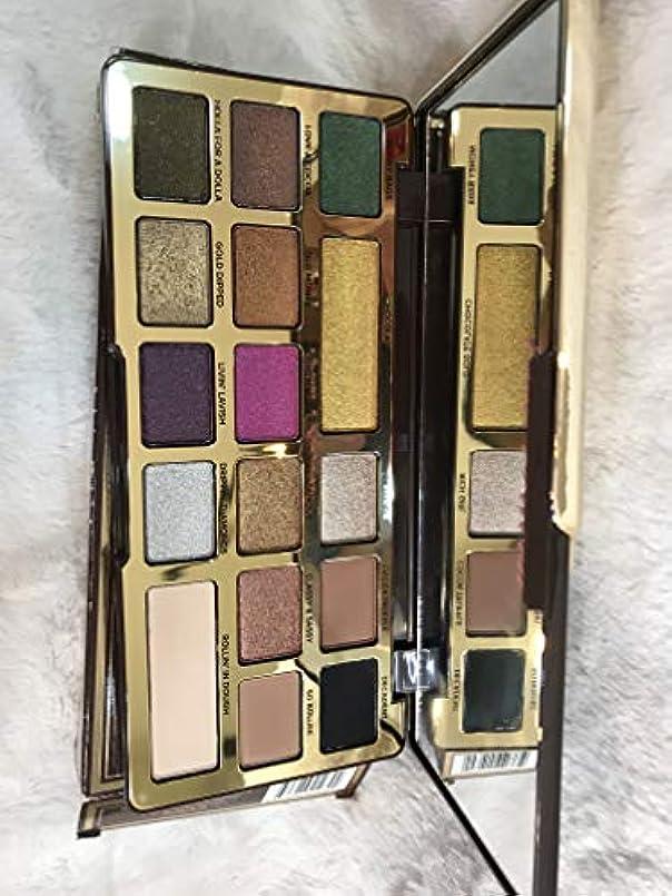 微弱遺伝子モデレータTOO FACED Chocolate Gold Metallic/Matte Eyeshadow Palette