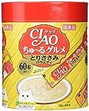 チャオ (CIAO) 猫用おやつ ちゅ~る グルメ とりささみバラエティ 14g×60本入