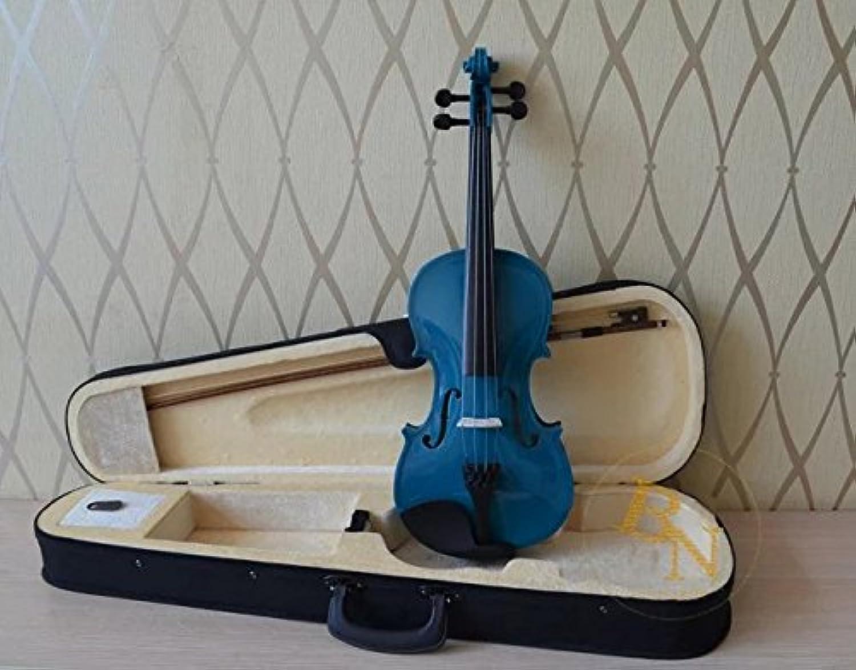 子供用 ヴァイオリン 初心者 入門モデル 誕生日プレゼント 9color 木製 ヴァイオリン 知育玩具 楽器玩具 子供用 1/4 3/4 4/4 1/2 1/8