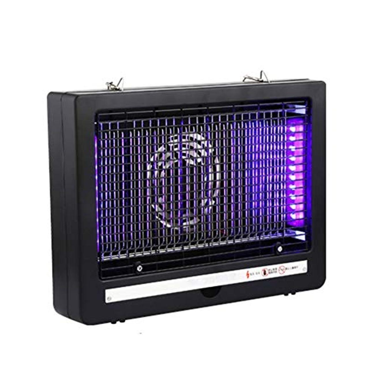 いらいらさせるハック生ZEMIN 蚊ランプ電撃殺虫灯 誘虫灯 ゲイル 電気ショック 取り外し可能 クリーン、 7W (Color : Black, Size : 340MM-7W)