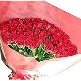 [ビズフラワー]【花束バラ 108本】プロポーズ専用花束 ピンク 薔薇 贈物 感謝 記念日 大切な日 BisesFlower