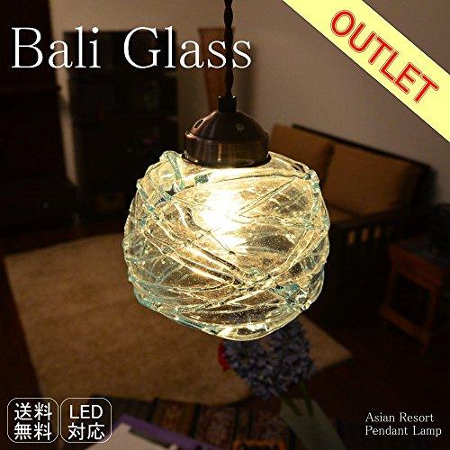 タMANJA LAM-0410-OUT アジアン照明 バリガラス Mellon