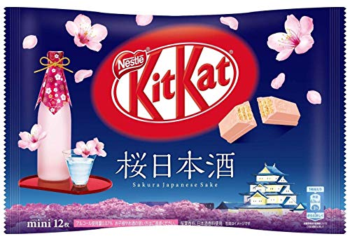 ネスレ キットカット 桜日本酒 12枚 × 2袋 kitkat