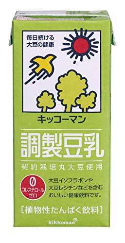 調製豆乳 1L ×6本