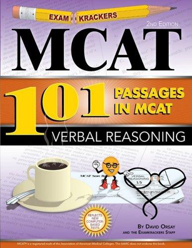 Download Examkrackers MCAT101 Passages in MCAT Verbal Reasoning 1893858553