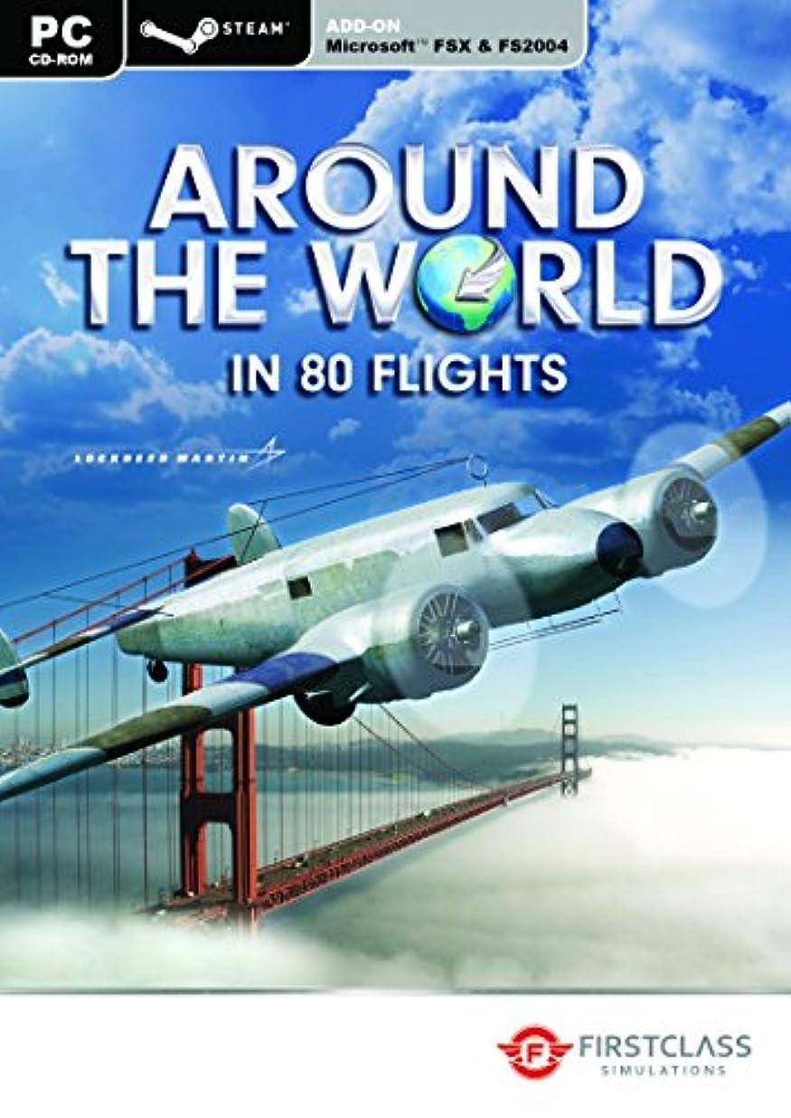 チューブ謝罪ウミウシAround the World in 80 Flights - FSX & Steam (PC CD) (輸入版)
