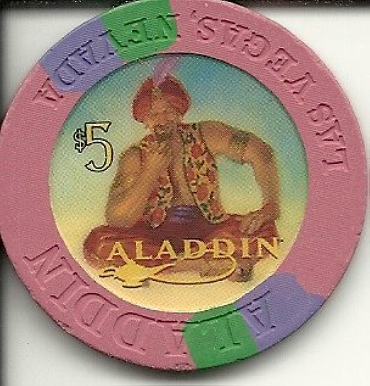 $ 5 Aladdin Genieラスベガスカジノチップ