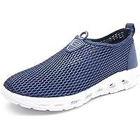 Men Women Quick Dry Water Shoes Lightweight Slip-On Aqua Sneakers for Walking Boating Sailing Running