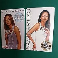 安室奈美恵 さん テレフォンカード 2枚