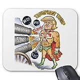Zazzle Triumphant Trump Super Heroマウスパッド