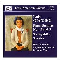 Gianneo: Piano Sonatas Nos. 2 And 3 / 6 Bagatelles by Dora De Marinis (2006-08-01)