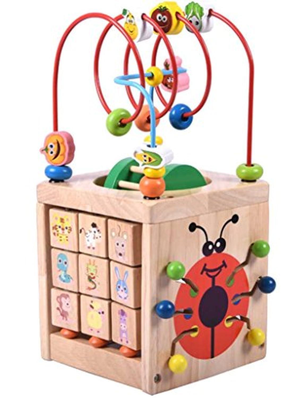 [はれちゃんのおもちゃシリーズ] 7つの遊び方で大満足 てんとう虫のおもしろ立体キューブ